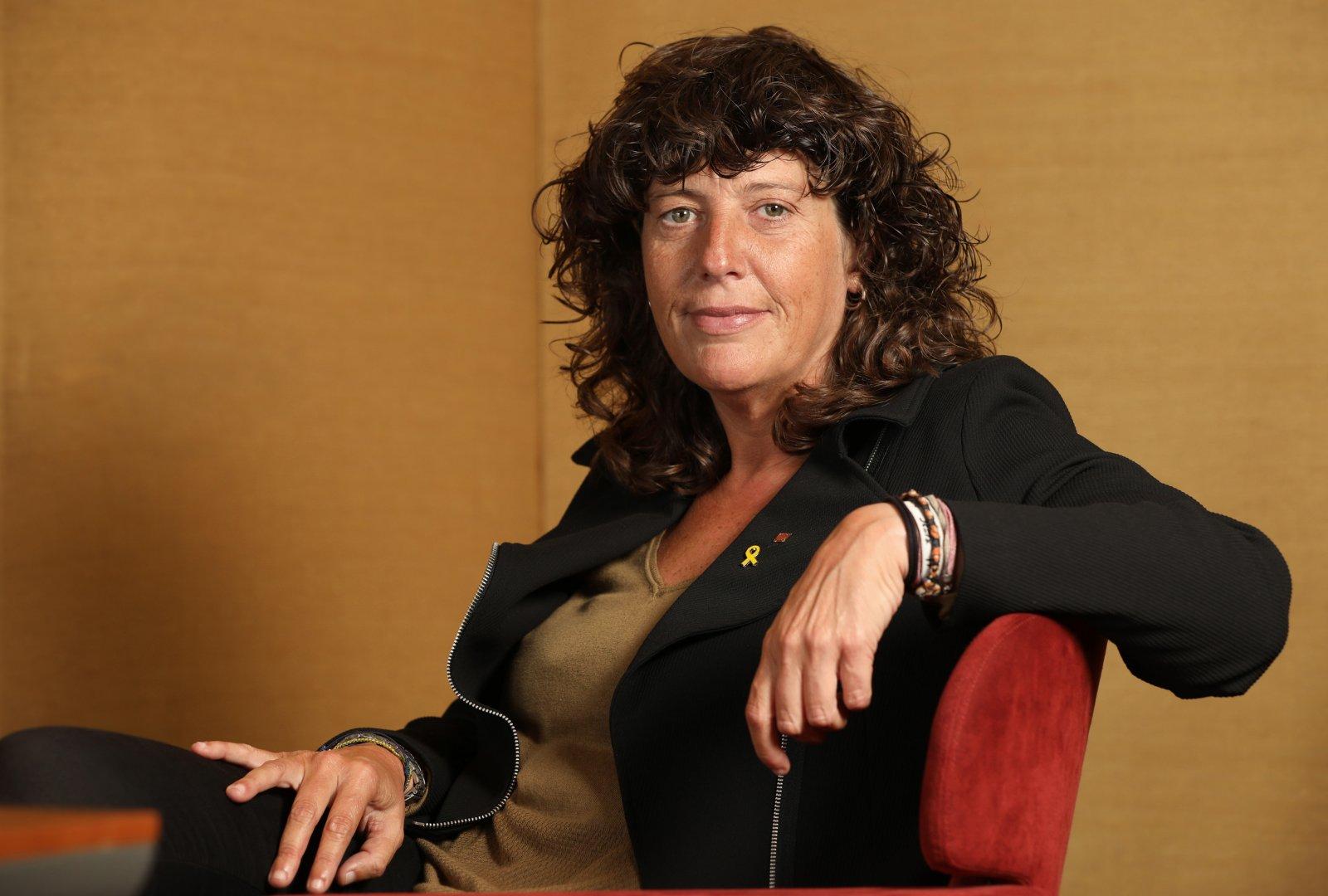 La consellera d'Agricultura, Ramaderia, Pesca i Alimentació, Teresa Jordà, en una imatge d'arxiu   Jordi Play