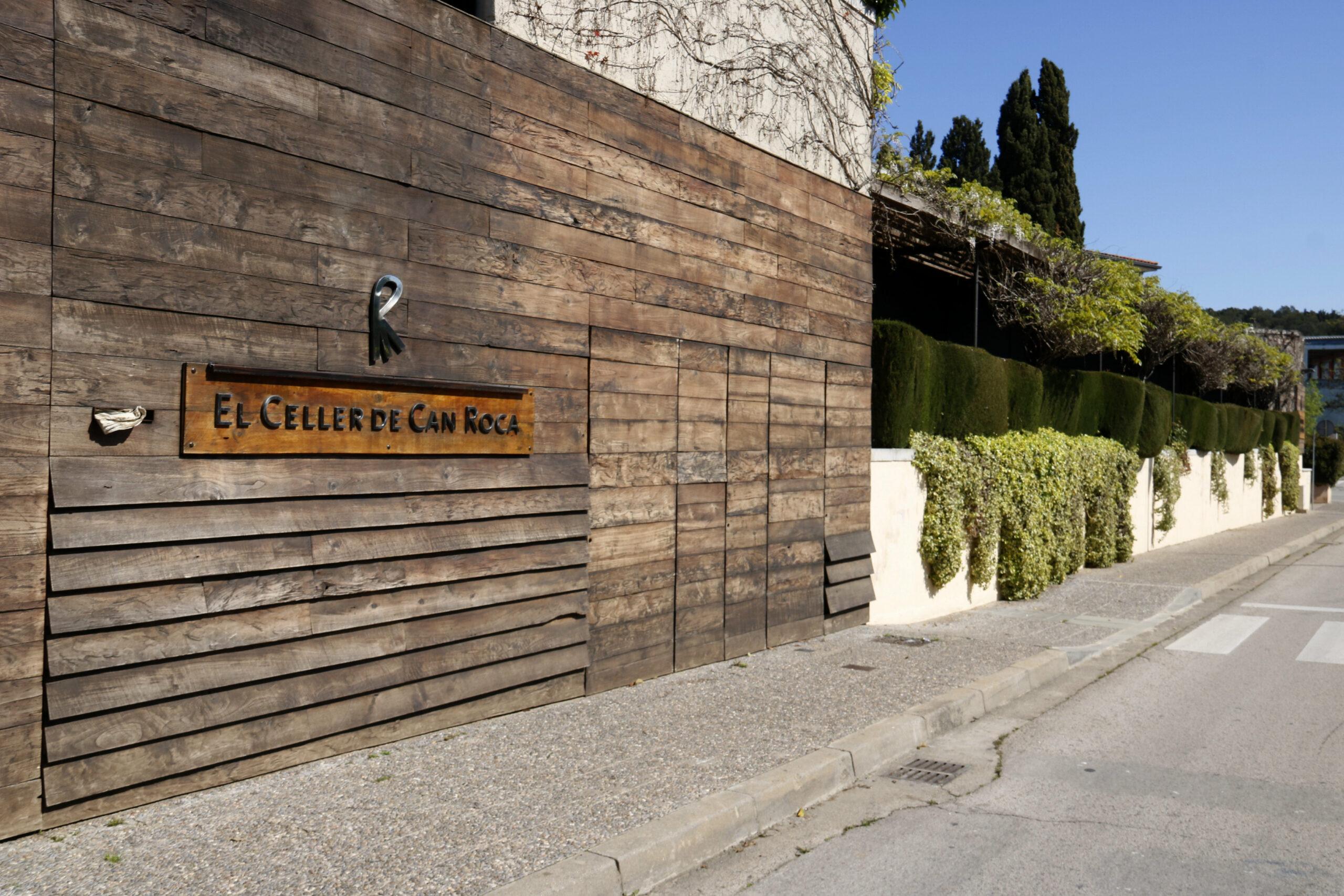 La façana d'El Celler de Can Roca   ACN