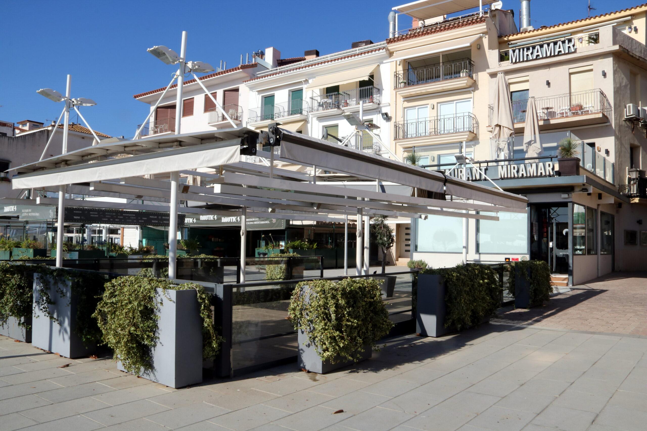 El restaurant Miramar de Cambrils tancat | ACN