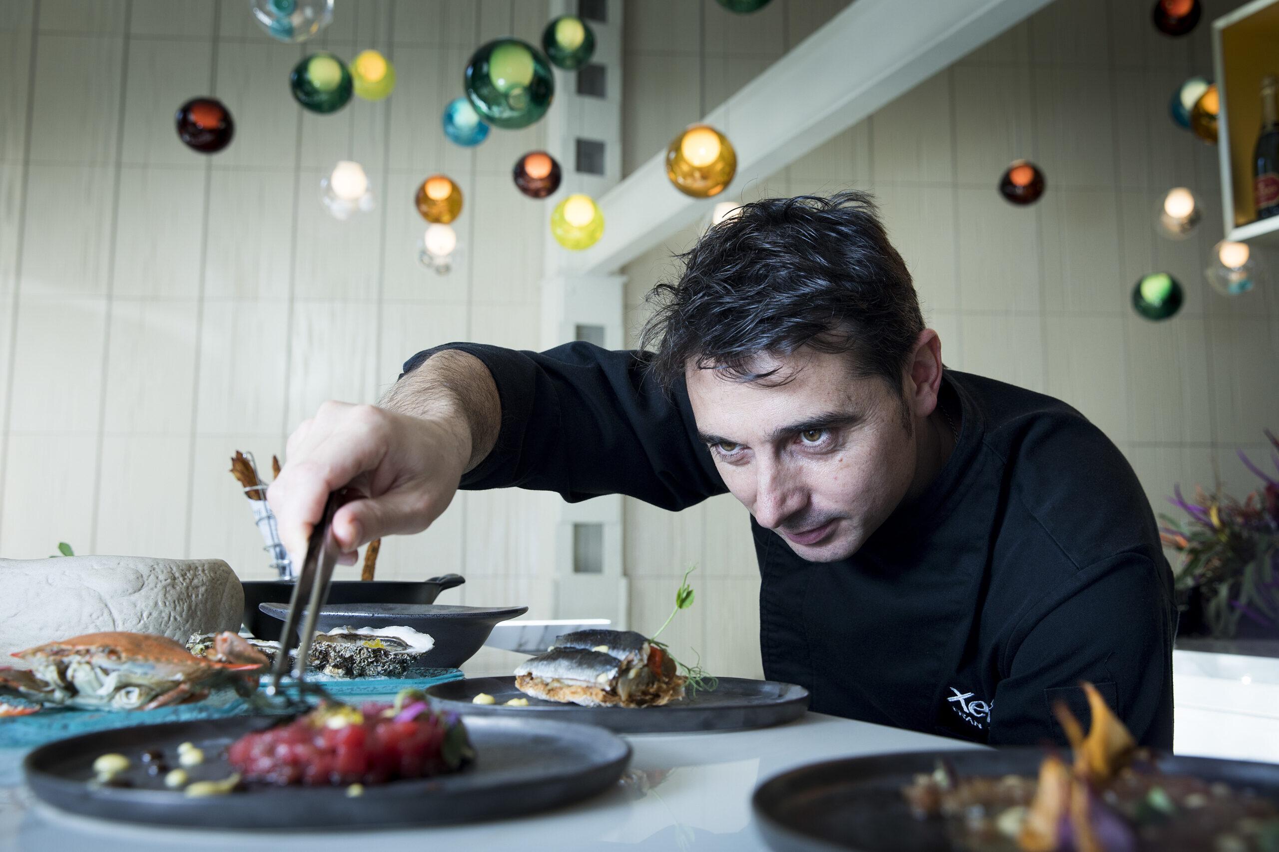 El xef Fran López, amb una estrella Michelin a Villa Retiro i una altra al Xerta Restaurant Barcelona | ACN