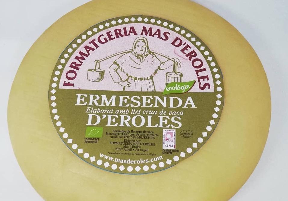 El formatge Ermesenda d'Eroles | Formatgeria Mas d'Eroles