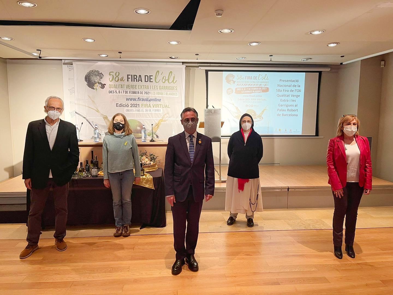 Acte de presentació de la La 58a Fira de l'Oli de Qualitat Verge Extra i les Garrigues   @firaoli