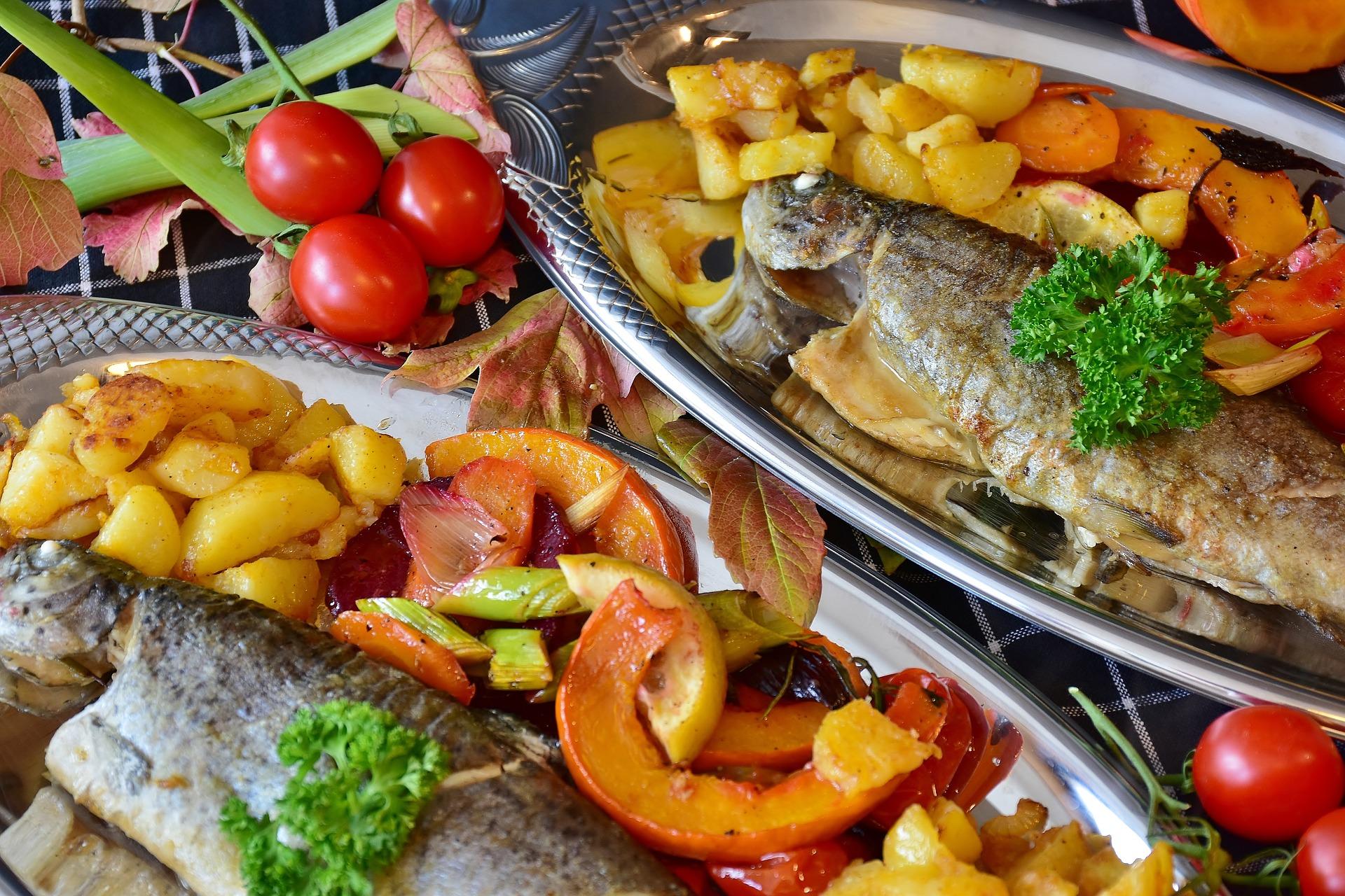 Dues truites cuinades | Pixabay