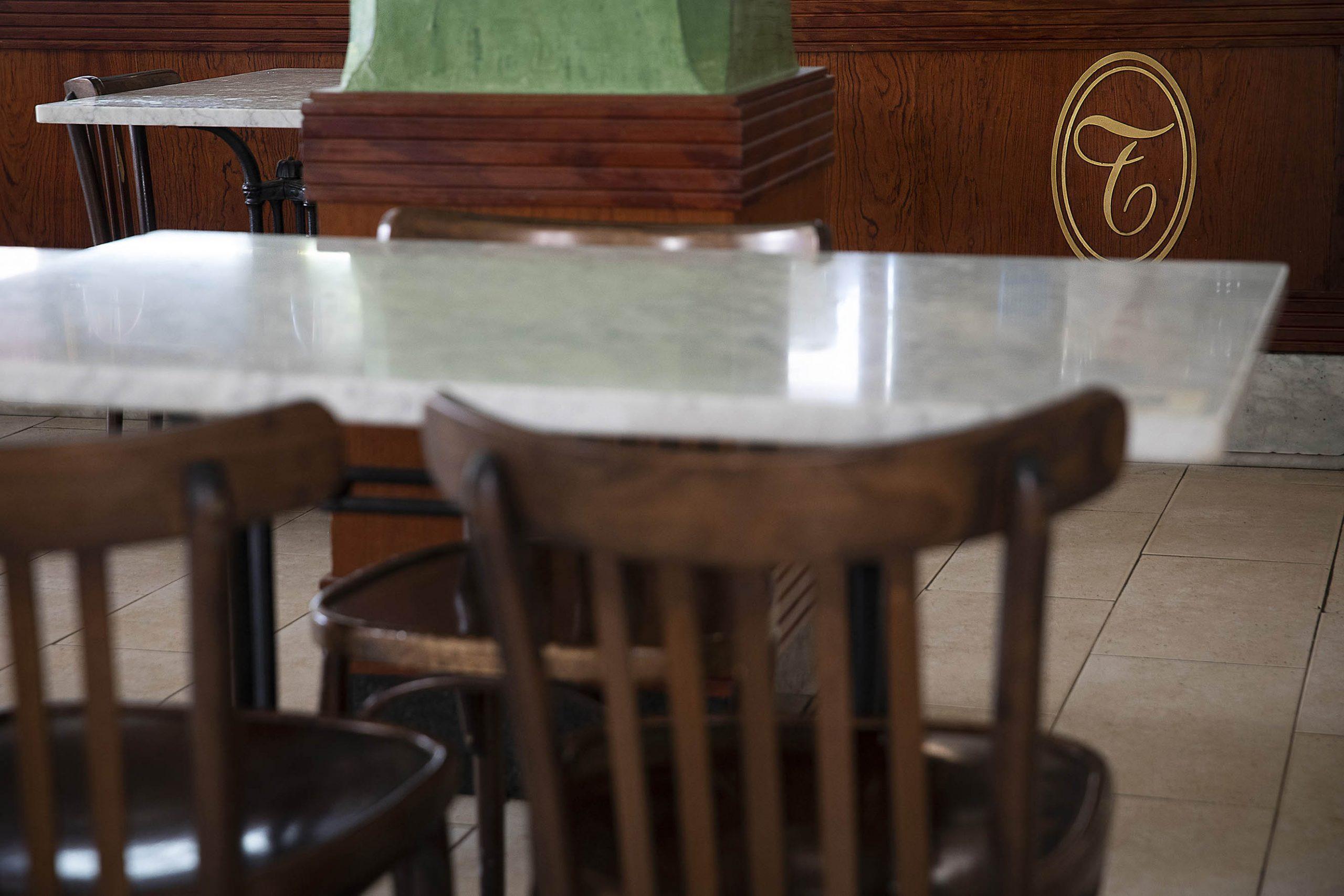 Interior del Cafè Els Terrassans | Jordi Play