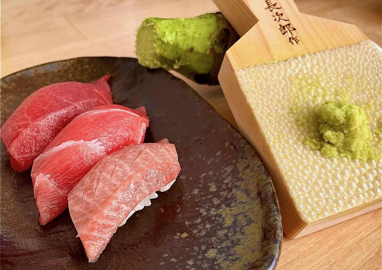 Wasabi del Montseny amb sushi   Facebook Yamaaoi Wasabi