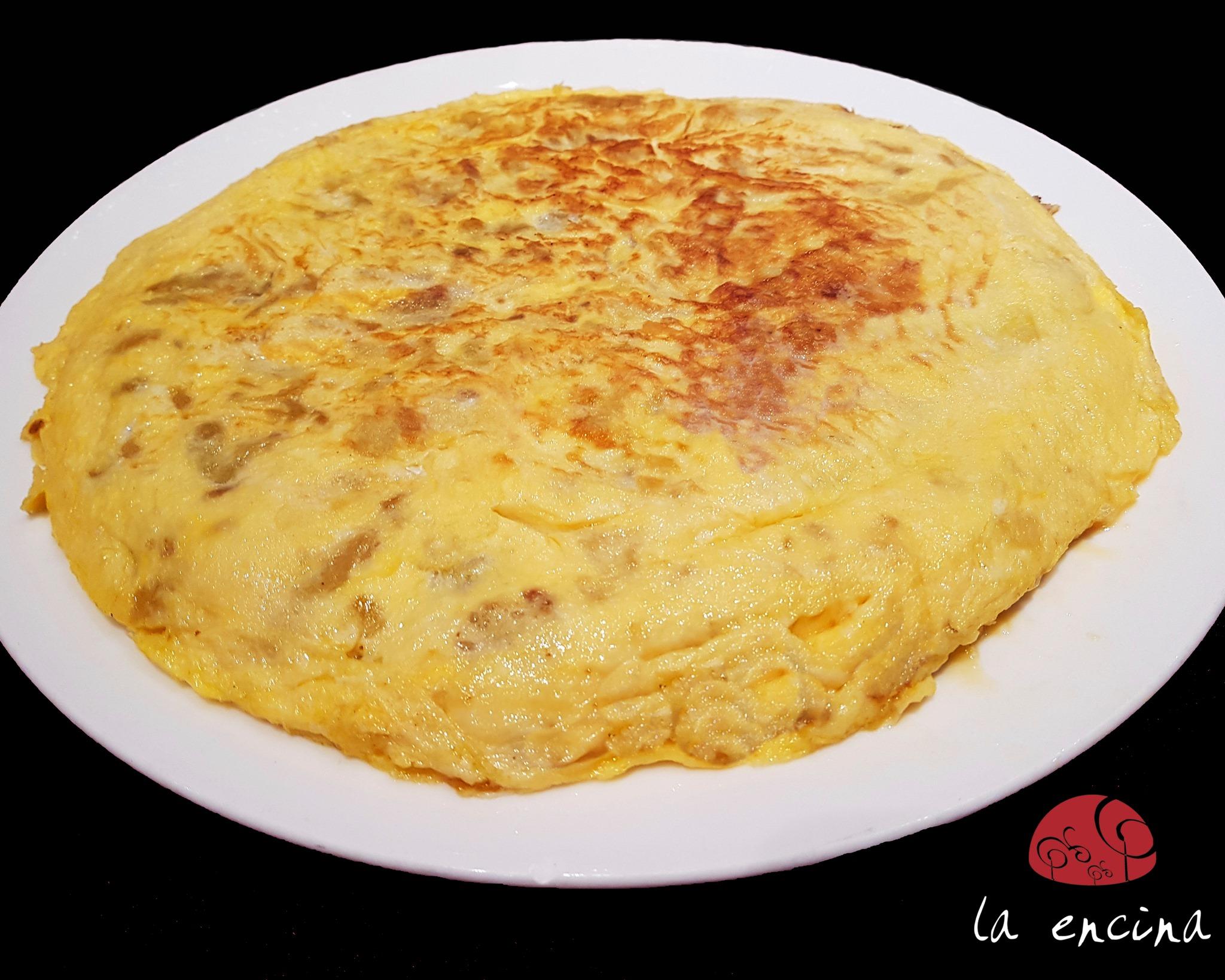 La truita de patates de Ciri González   Facebook Restaurant La Encina
