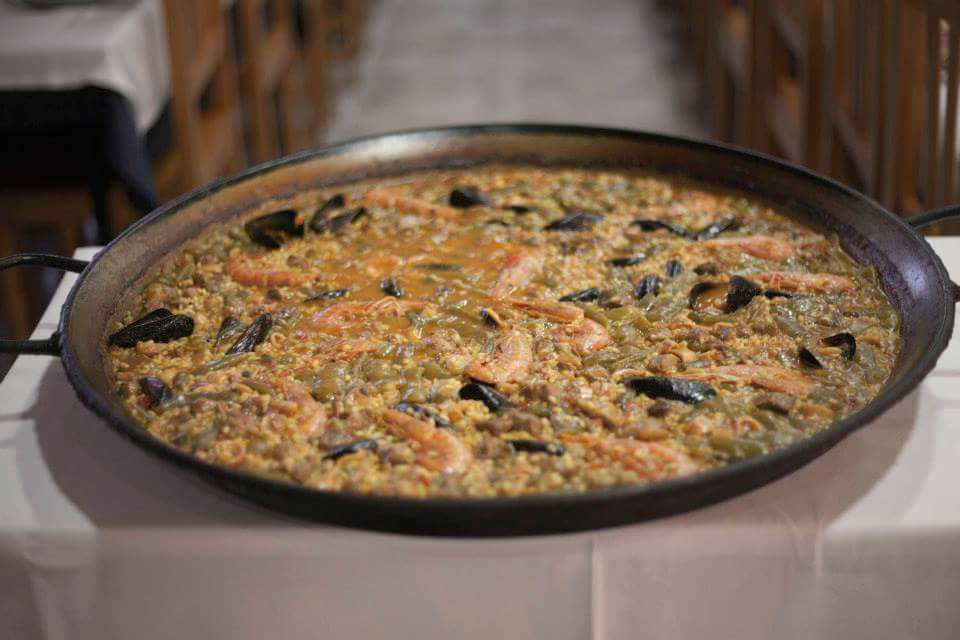 Un arròs del restaurant Can Paquita | Facebook Restaurant Can Paquita