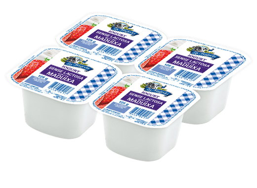 Nou iogurt sense lactosa amb gust de maduixa | La Fageda